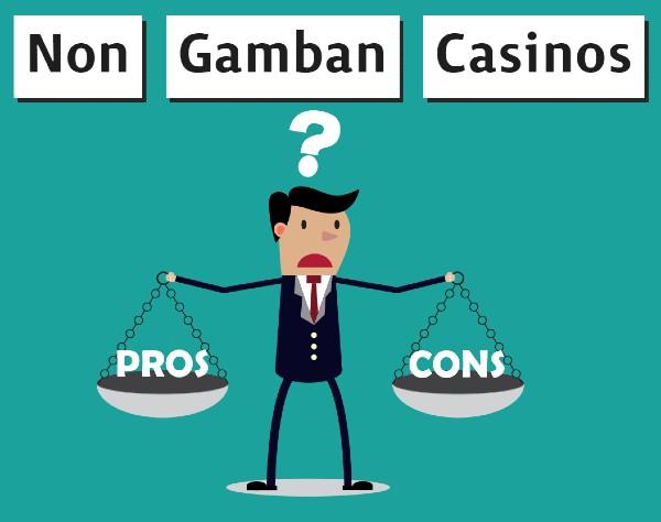 Non-Gamban Casinos Pros & Cons